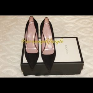 Gucci Adina Horsebit Pumps